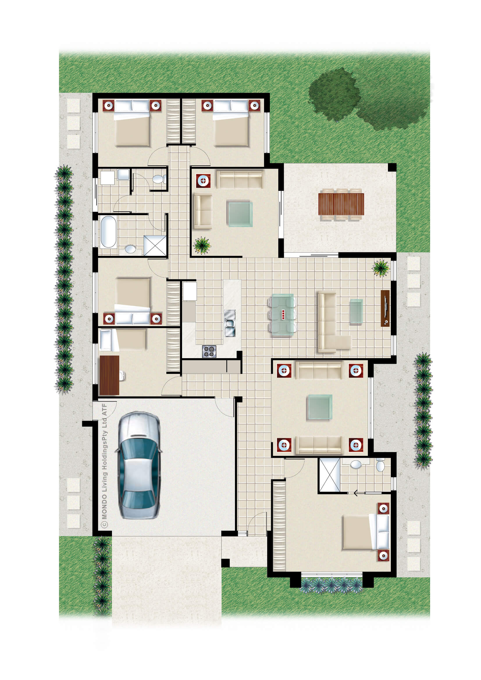 Auburn 501 lot 101 fergus builders for 101 richmond floor plans